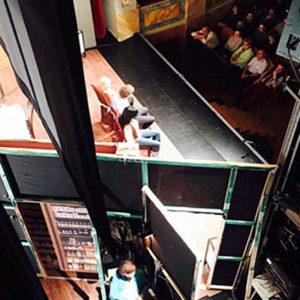 Da drè di scen, diari d'un tacapàgn da teater.